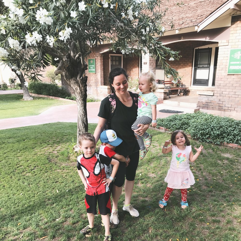 Susana Starbuck is a wife, mother, and swim coach/instructor living in Phoenix Arizona. When not at the pool coaching and teaching, she enjoys running, cooking healthy meals, reading books worth losing sleep over, and sipping a glass of wine in the evenings.