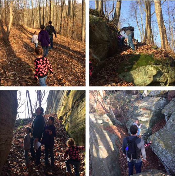 A weekend of hiking in the Hocking Hills of Ohio with the kids
