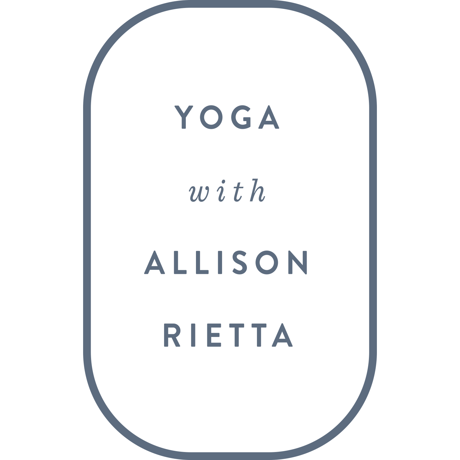 Yoga with Allison Rietta