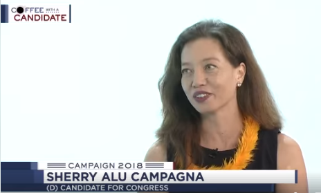 "Sherry speaks with Shawn Ching on Hawaii News Now for ""Coffee With a Candidate""  View interview online here:   https://www.facebook.com/HawaiiNewsNow/videos/10156363456600479/"