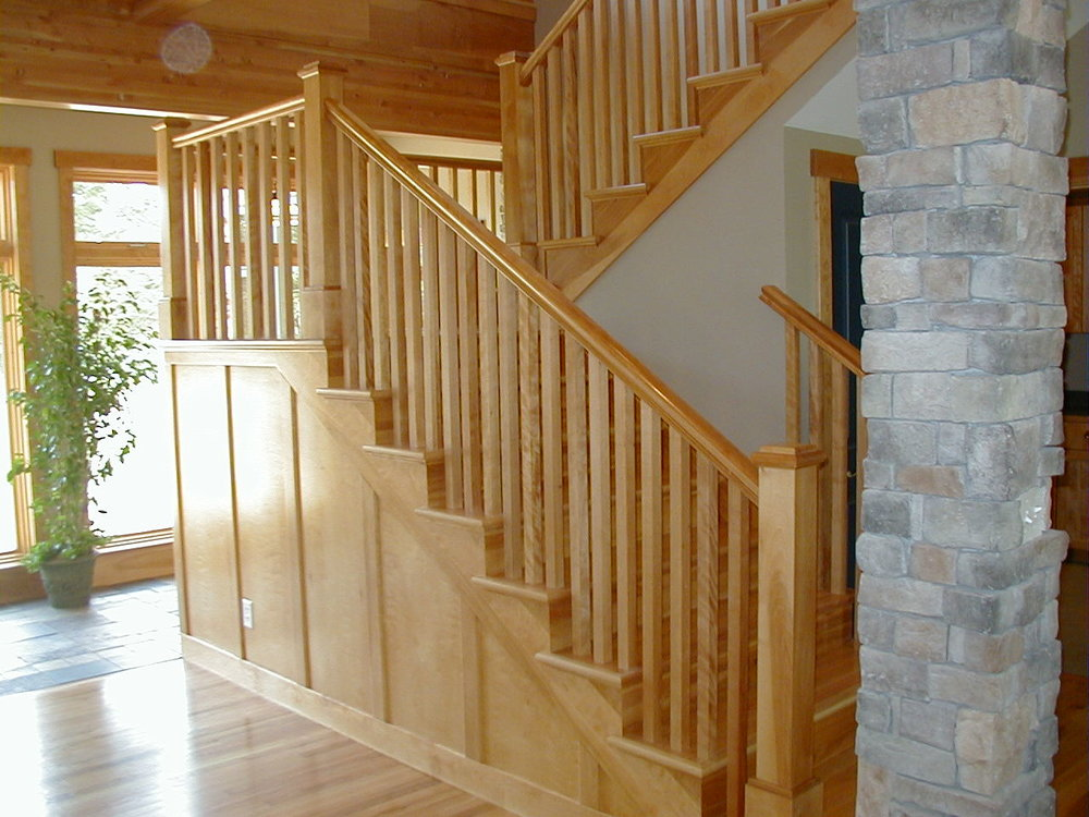 Craftsman Staircase and Railings