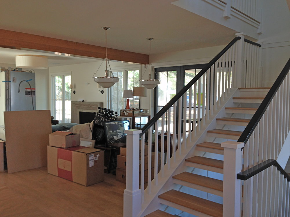 View from Entry into Living room
