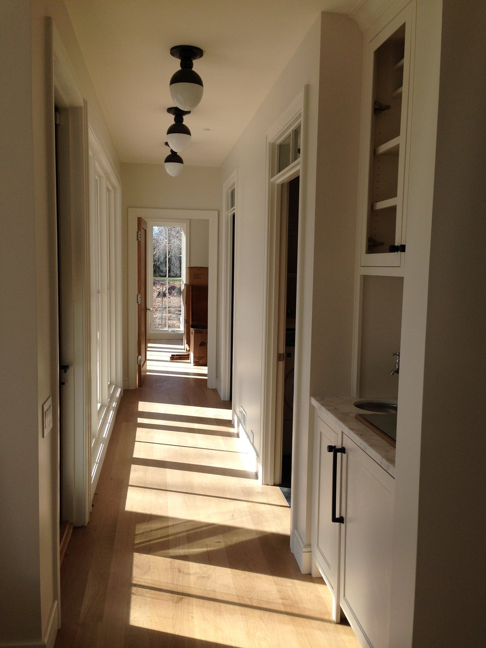 Light-filled Hall to the Master Bedroom