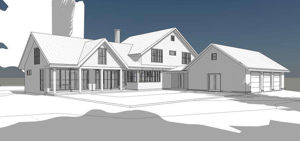 Patio rendering