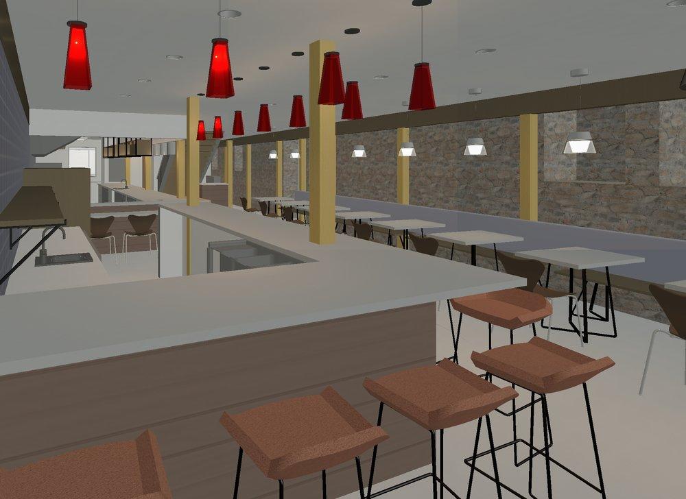 The Elkhart Basement Restaurant