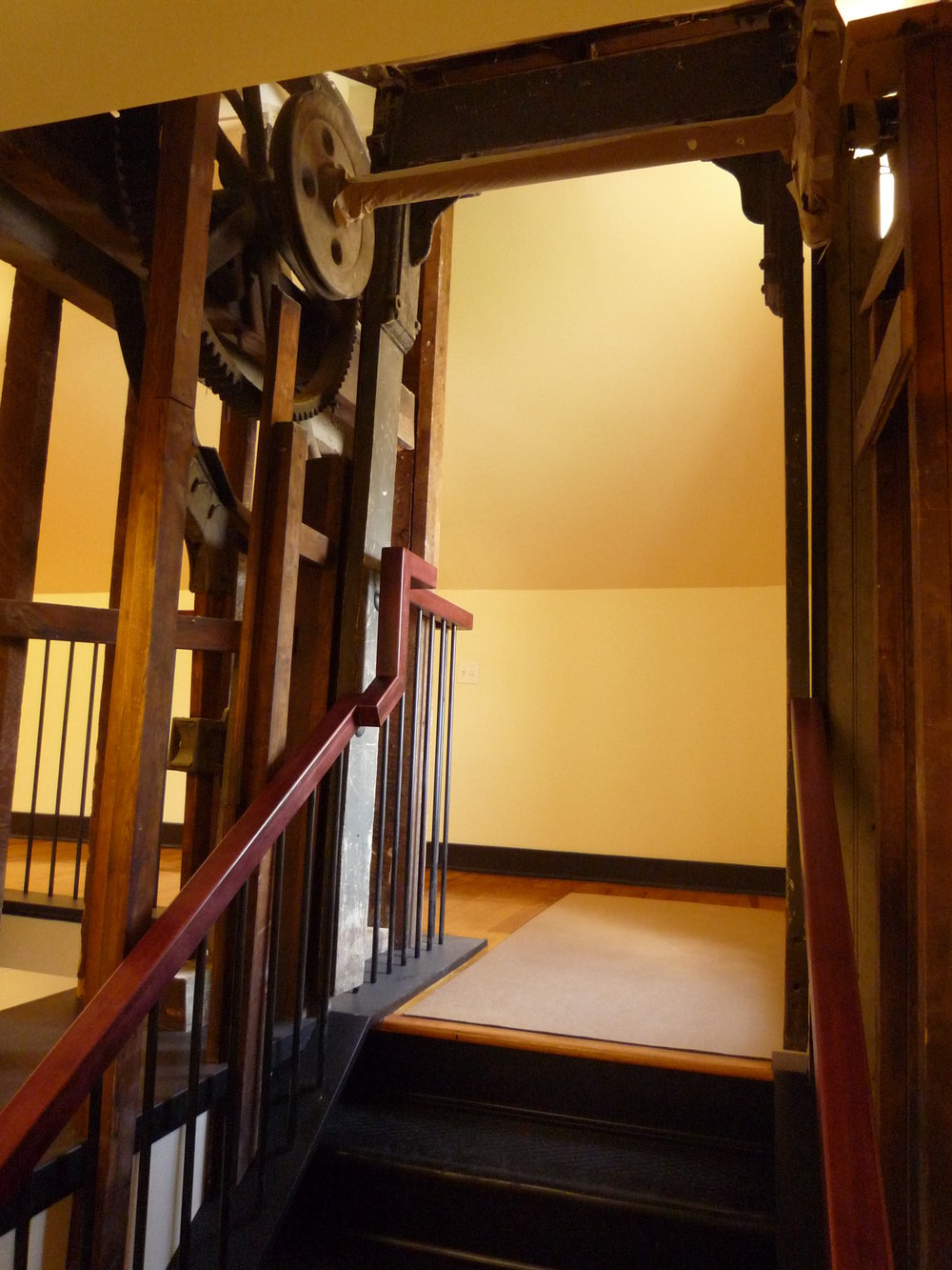 Elevator Entrance - Top of Stairs