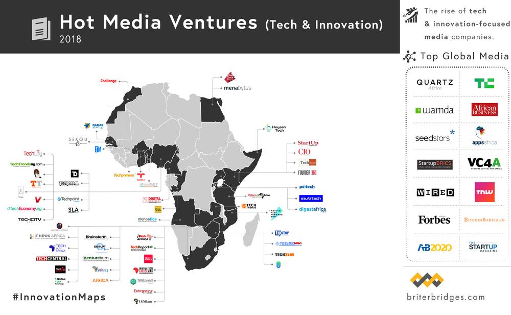 Hot Tech Media Ventures in Africa