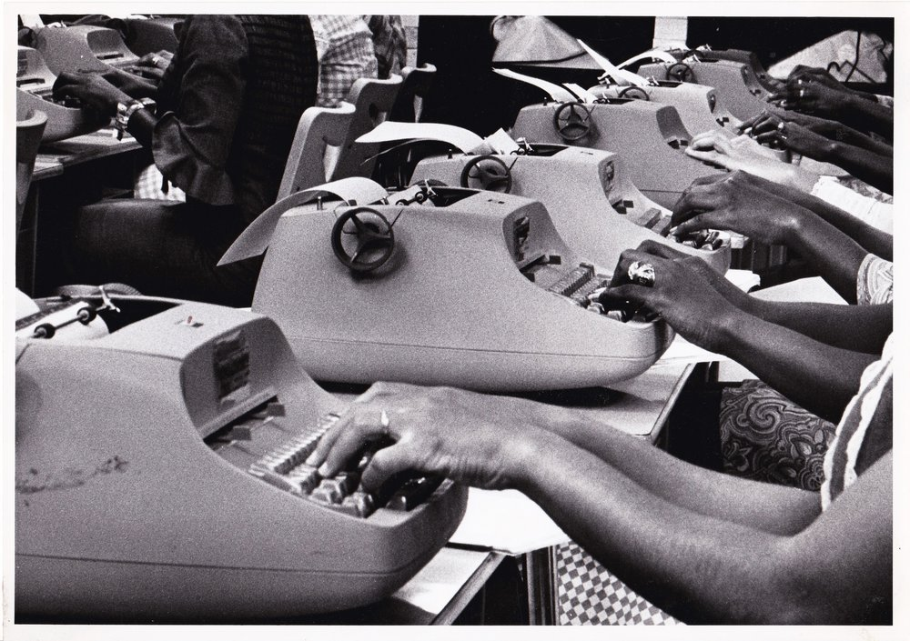 '69 Typing Class