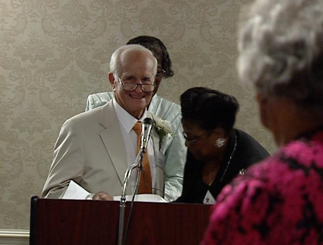 James J. Coleman at the AEC Reunion, 2000.