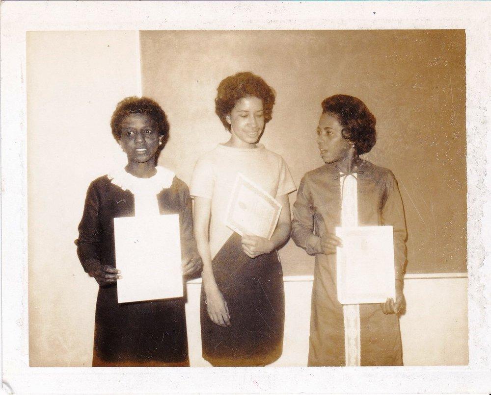 '67 Cleo Grant, Thyra Johnson, Angela Theophile