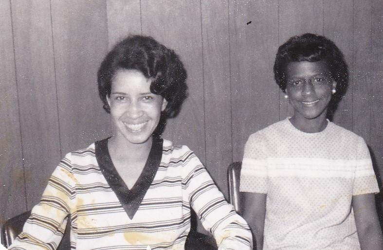 '67 Thyra Johnson and Cleo Grant