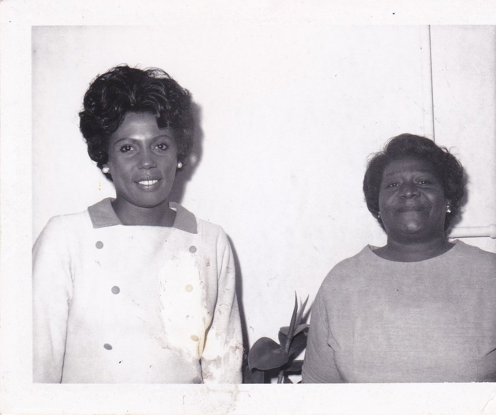 '67 Lydia Johnson and Marilyn Miller