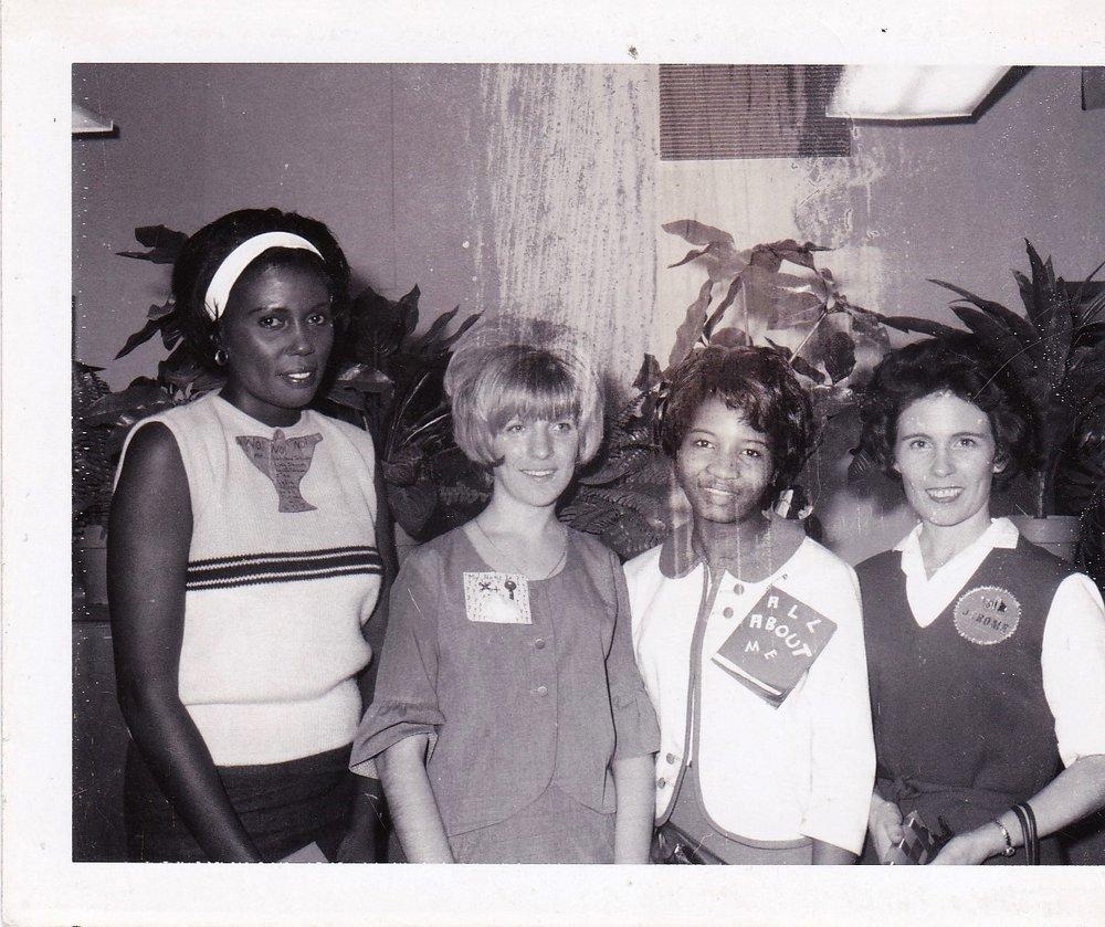 '67 Lydia Johnson, Jackie Cotton, Gloria Dean Boss and Abby Jerome