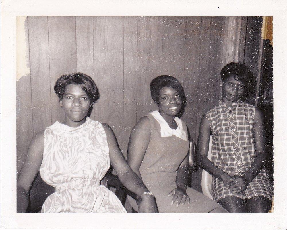 '67 Dot Wilson, Emily Green, Annie Pierre