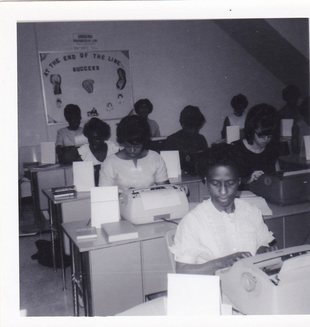 '67 Typing Class - Cleo Grant, front