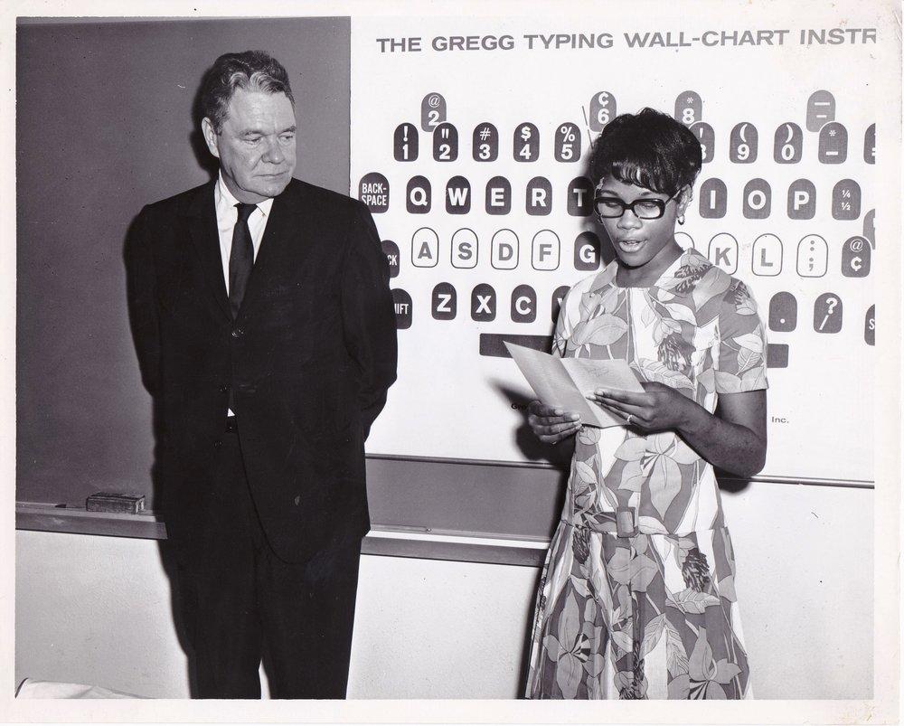 '68 Hale Boggs with Sandra Burns