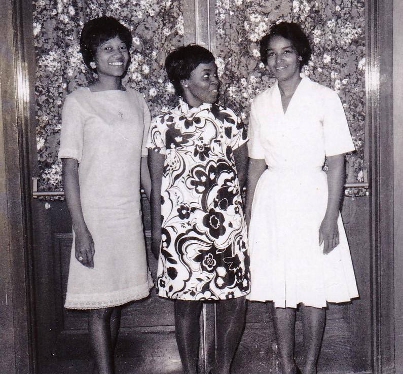 '68 Shirley Wilfred, Brenda Washington, Leona Scott