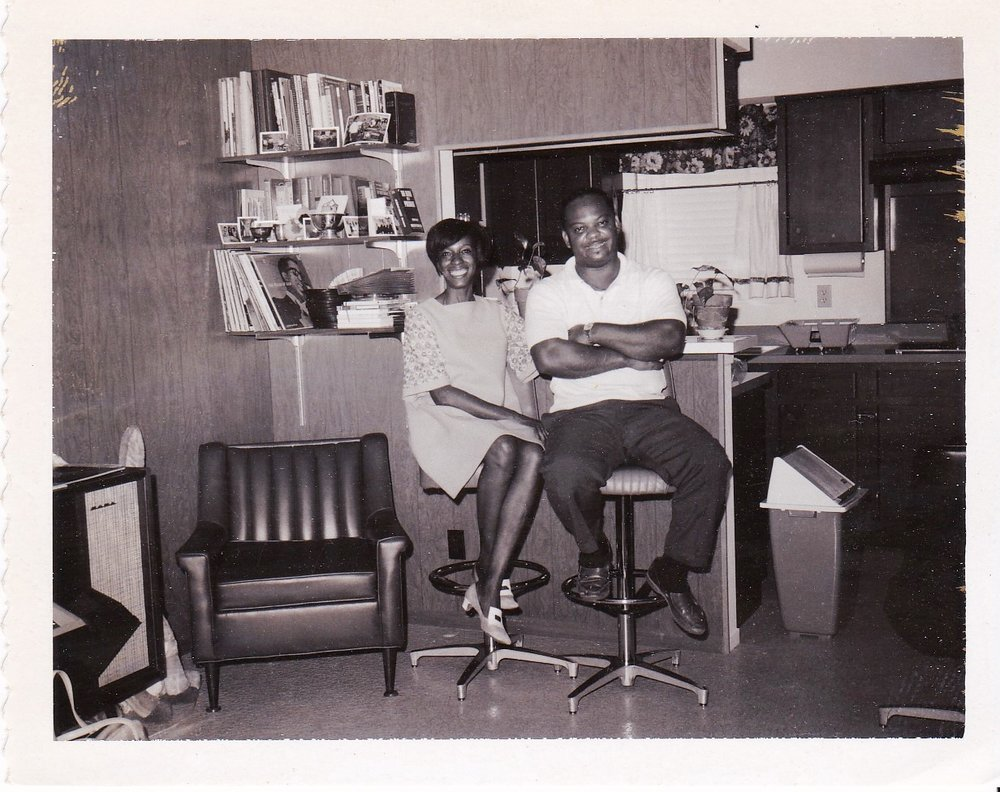'68 Shirley Wright and her husband, Earl Wright