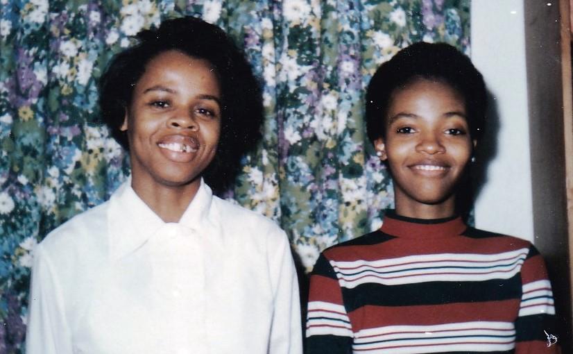 '71 Rachel Rylander Bridges and Esther Marie Johnson