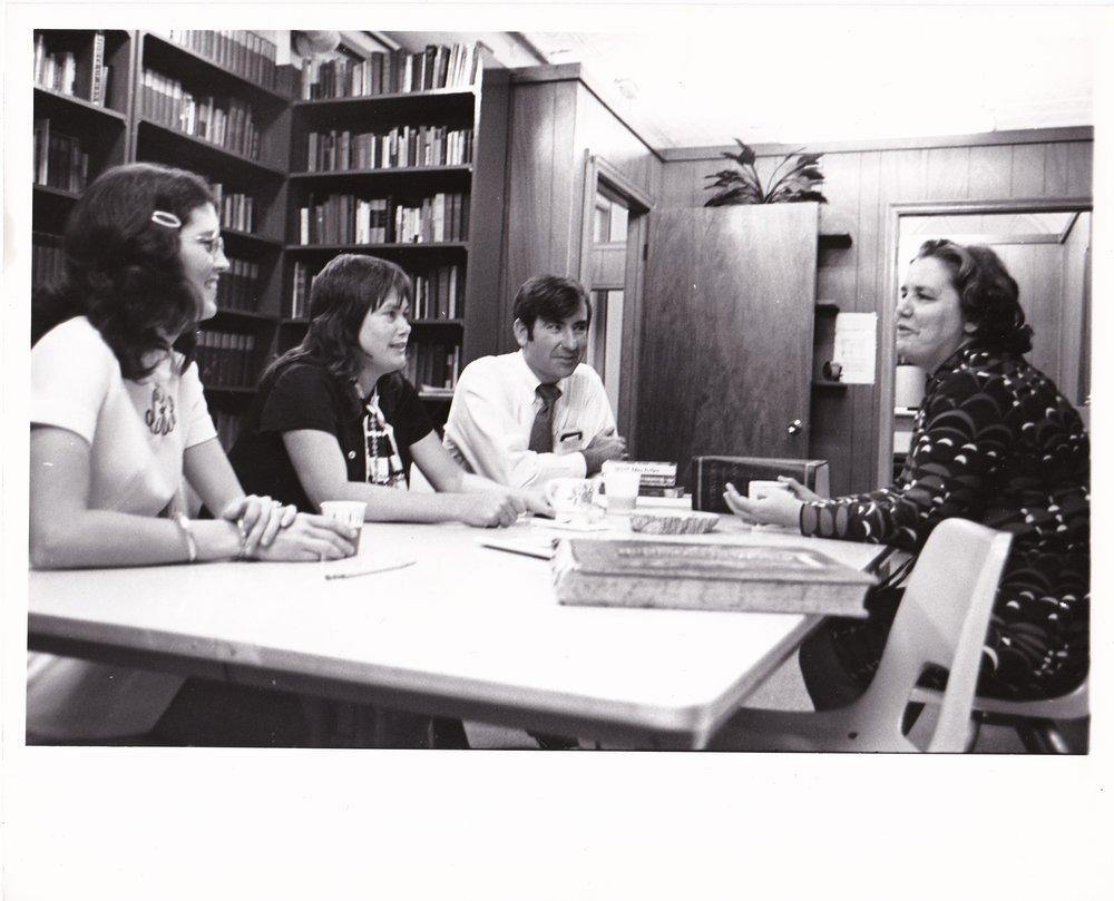 '72 Sharon Rodi, Tina Harper, Floyd McLamb and Alice Geoffray