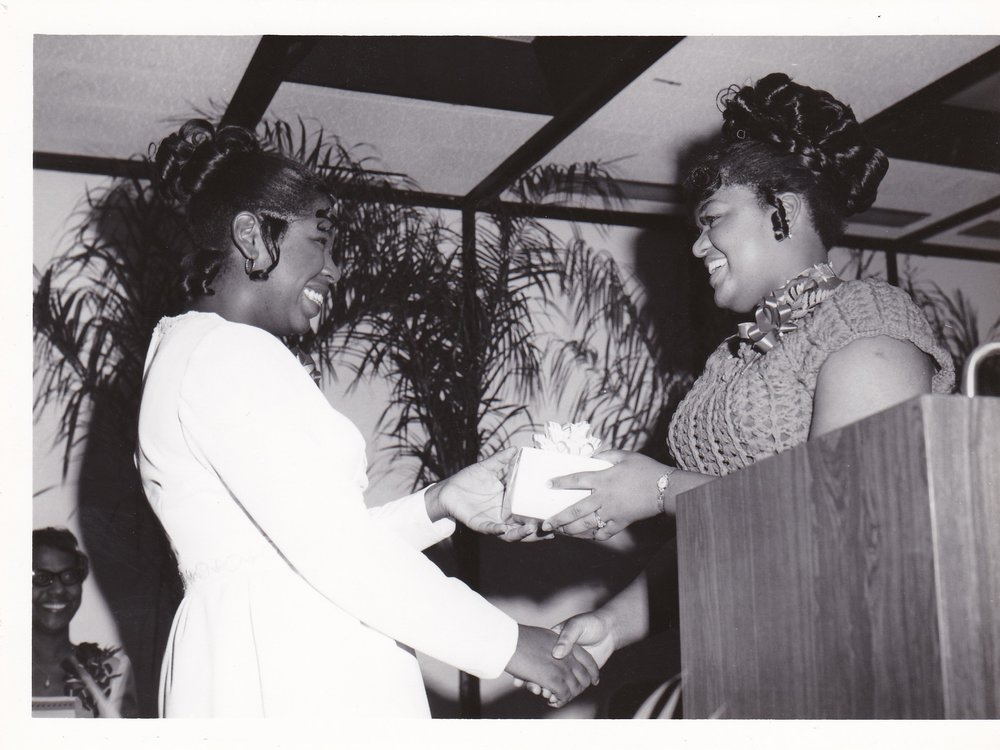 '72 Student with Diann Johnson