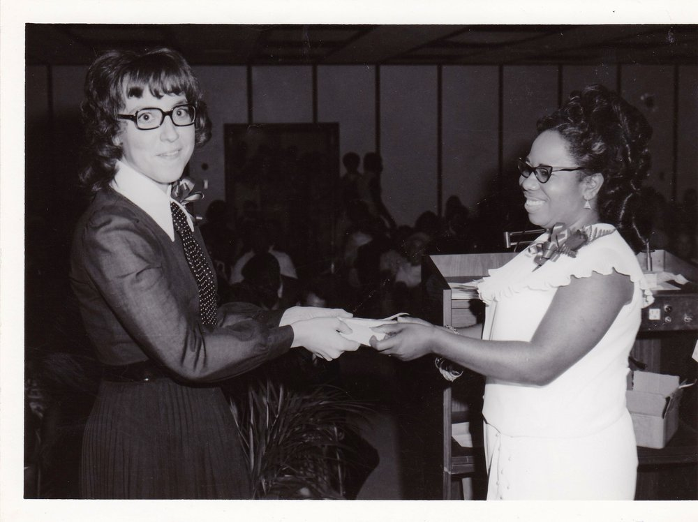 '72 Madeline Sachnick and Lucille Le'Obia