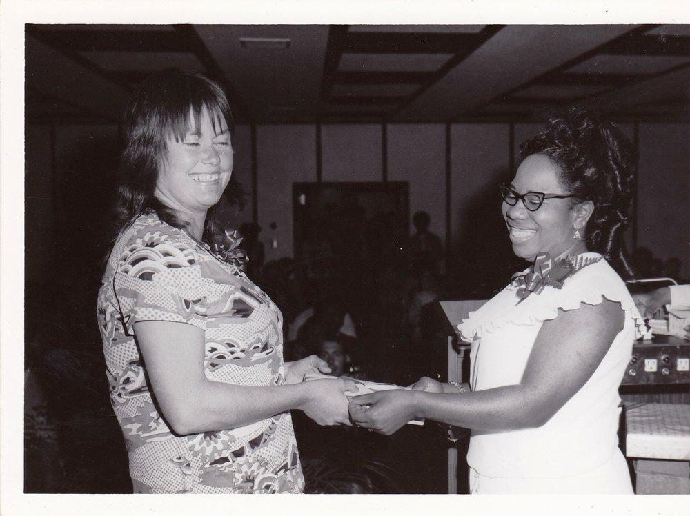 '72 Tina Harper and Lucille Le'Obia