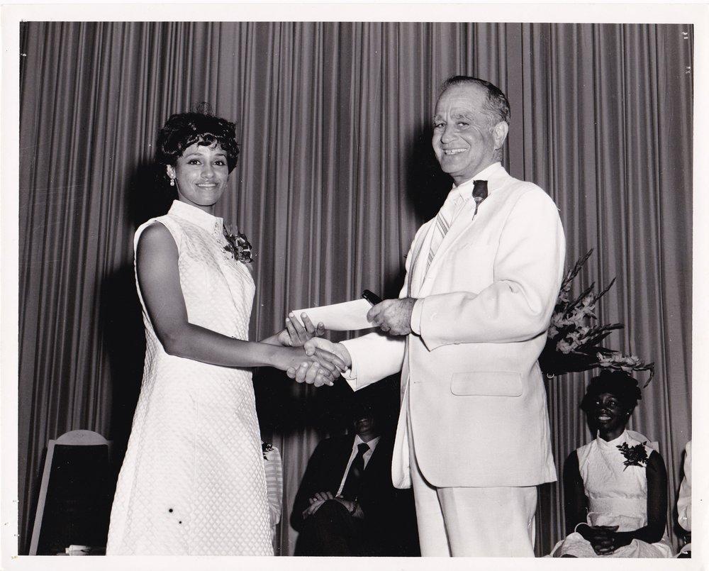 #3: '69 __________ and James Coleman at Graduation