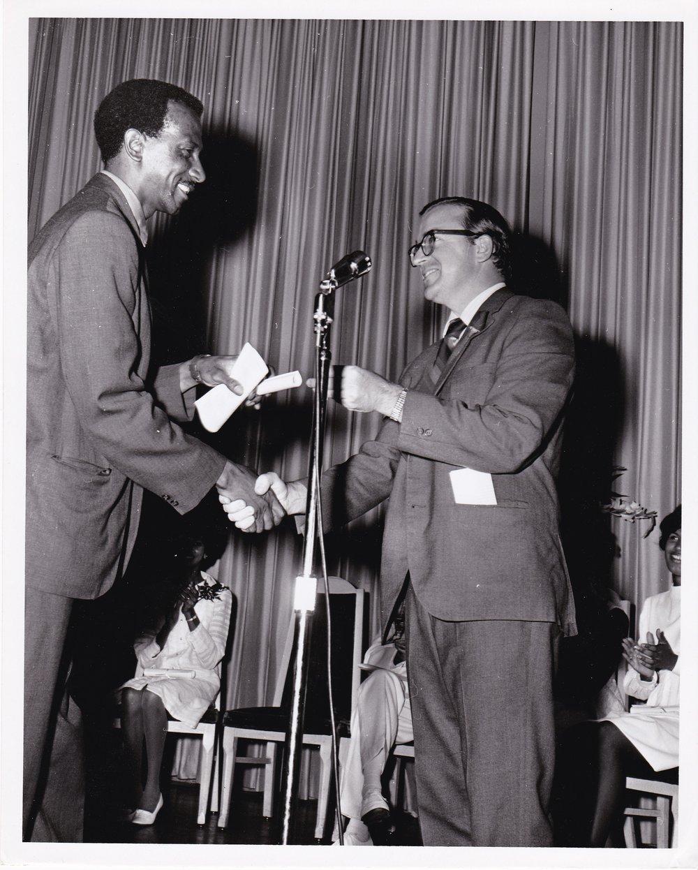 #7: '69 _____ and Timothy Gibbons at Graduation