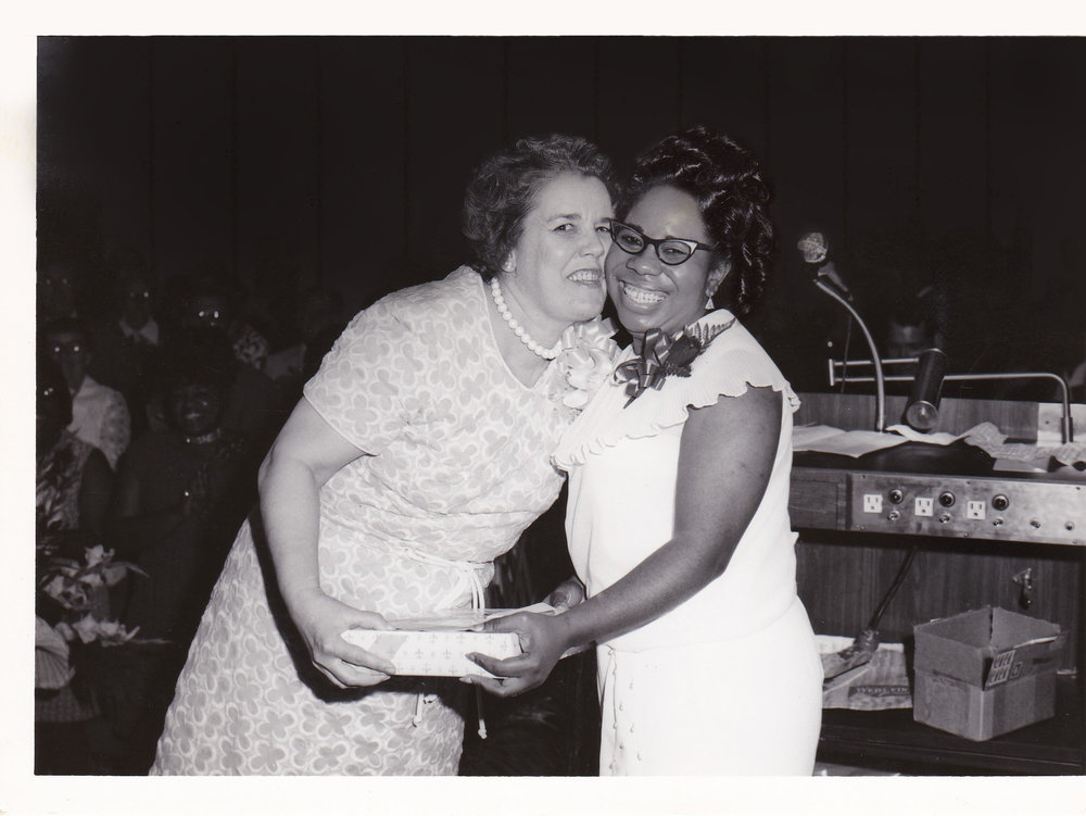'72 Alice Geoffray and Lucille Le'Obia
