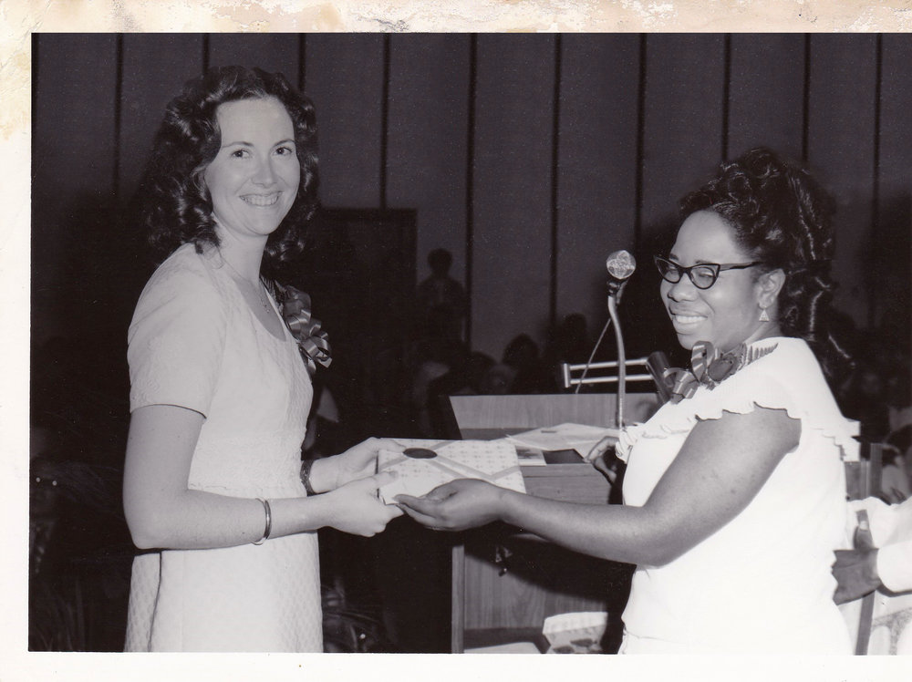 '72 Marcia Bourgeouis and Lucille Le'Obia