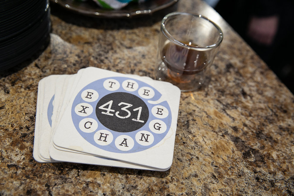 Our 431 Exchange coasters