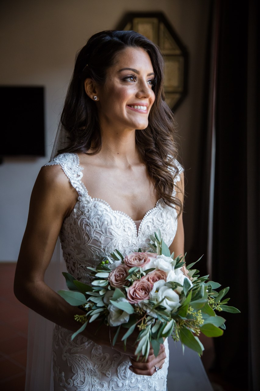 Our beautiful #HCTBride, Aria.