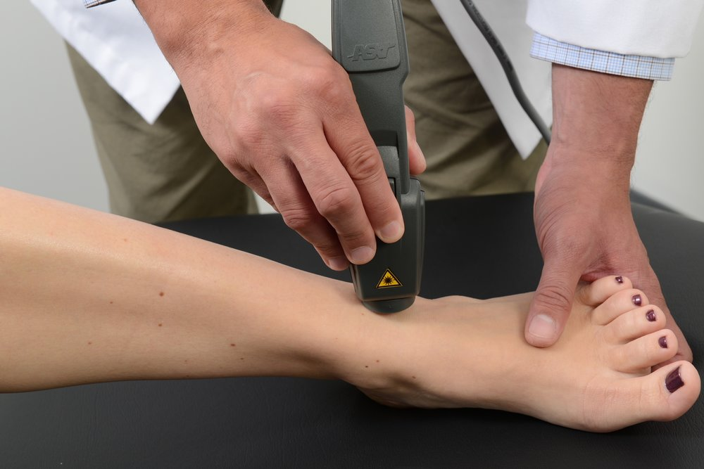 pain relief for feet with laser therapy in westfield, indiana