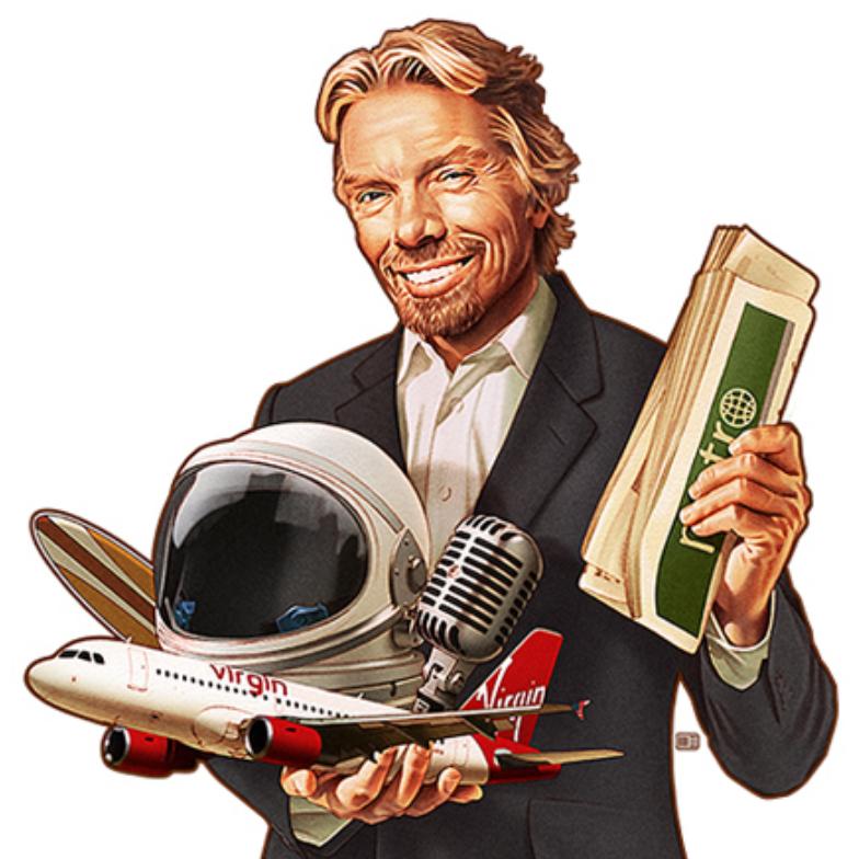 Richard Branson  - Guest Editor