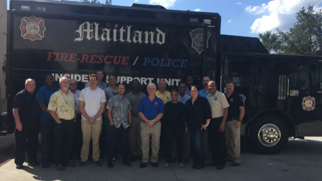 Maitland FD Essentials of Fire Chaplaincy Class- Sept 2018
