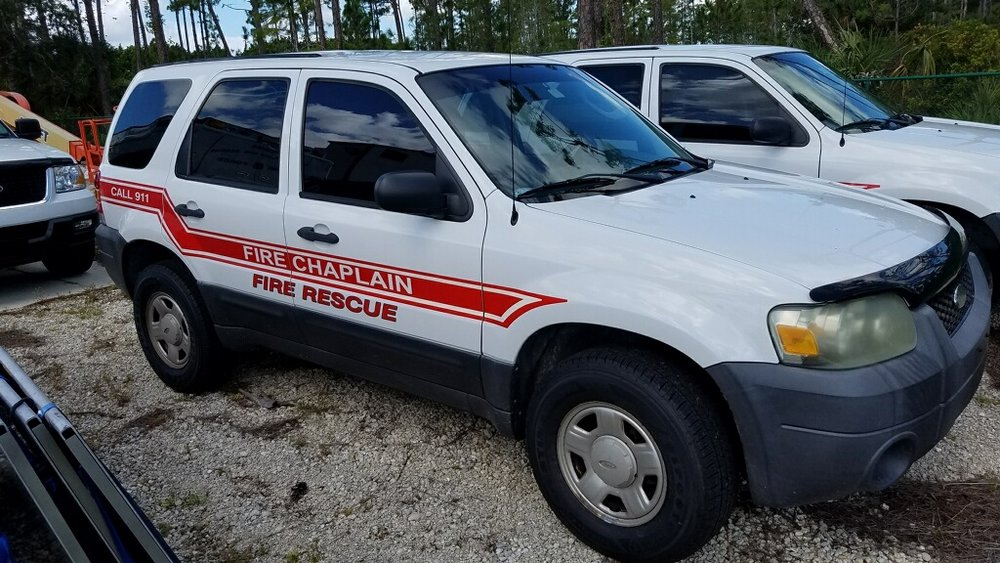 Chaplain Vehicle- courtesy of San Carlos Park FD