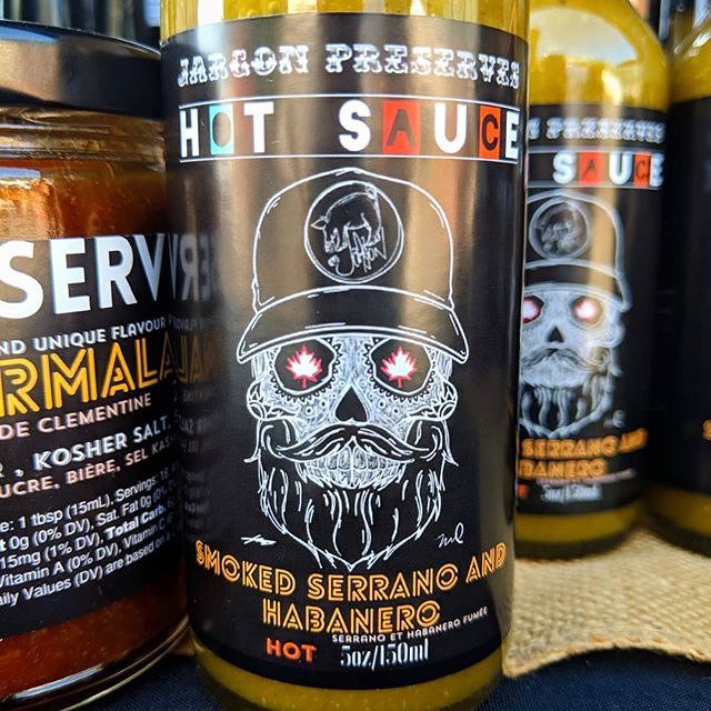 Probably the best hot sauce we've ever made  #localproduce #smallbatch #supportlocal #smoked #fermented #hotsauce #flavorcountry
