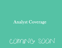 Analyst Coverage