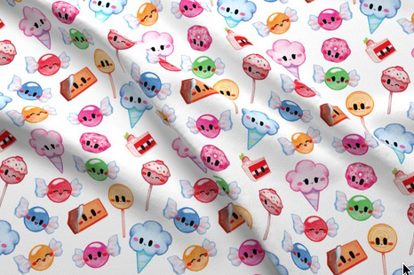 Spoonflower - I am currently exploring the wonders of textile designs! Wanting to share cute, sweet, and yummy patterns through out the world! Fabric, clothing, wallpaper, gift wrap and more!