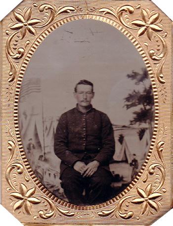 Sergeant Henry Lye, Company G, 1st United States Sharpshooters