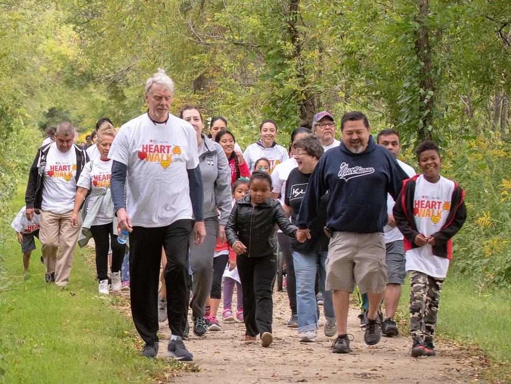 Community walk with mayor pineda