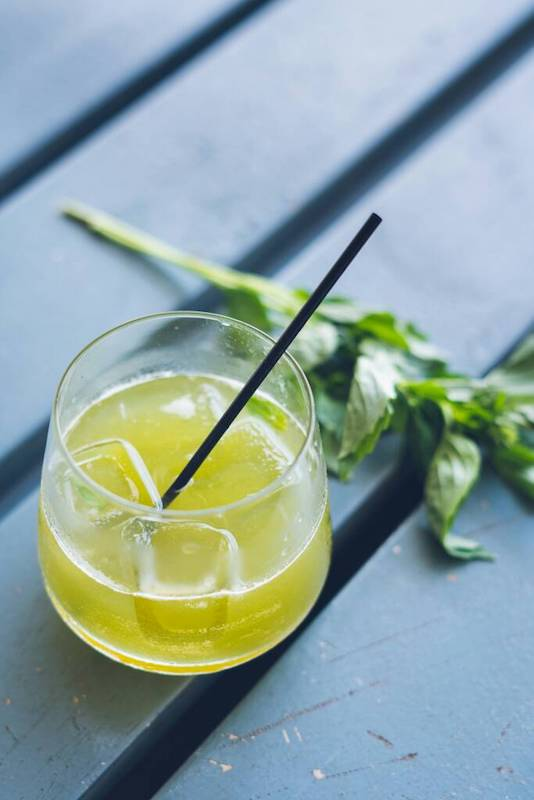 Art basil - Gin, fresh sweet basil and simple syrup