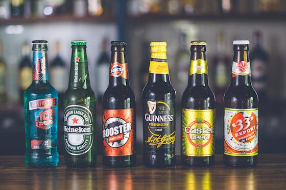 Beer - 33 ExportBoosterCastel GuinnessHeinekenIce ElectricMutzig