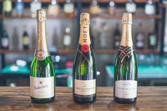 Champagne  - Bottle / Bouteille Cuvée BlancheLaurent PerrierMoët Impérial Nederburg