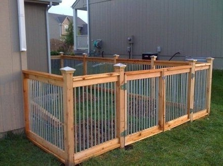 Dog Run + Fence -