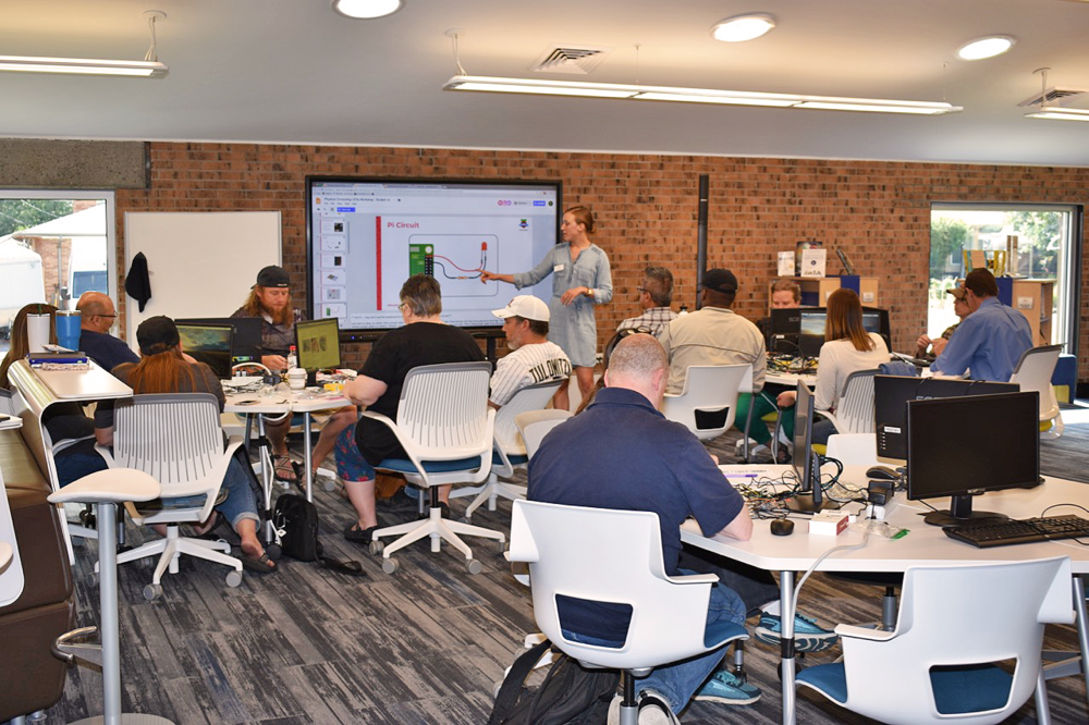 Computer Science Principles (CSP) - Serves: High SchoolsDetails: 5-day Summer Workshop; 4 Quarterly Workshops (Saturdays); Online Forum & Community.Impacts To-Date: 64 teachers and 1,920 students have been reached by mindSpark Learning through this program.Cost: $2000 (scholarships/grants available)