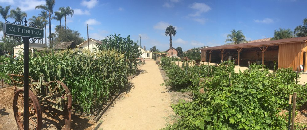 Oxnard historic Farm park - Location