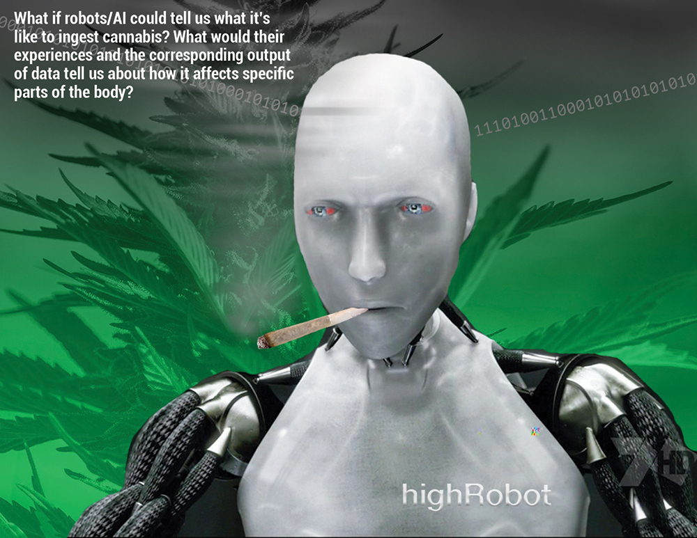 What if AI could tell us what it's like to use cannabis? What would their experiences and the corresponding data tell us about how cannabis affects our bodies?
