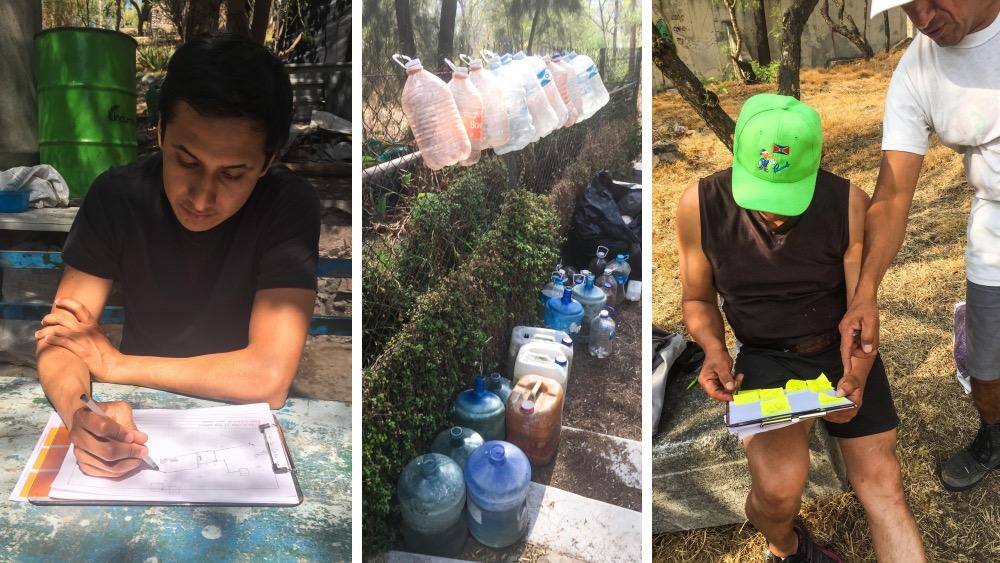 Research in the Gabriel Hernandez neighborhood / Tepeyac Park